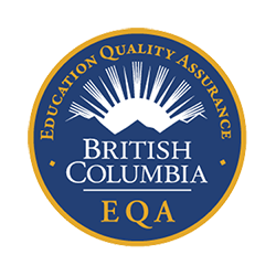 British Columba EQA badge
